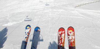 romantyczny wyjazd na narty