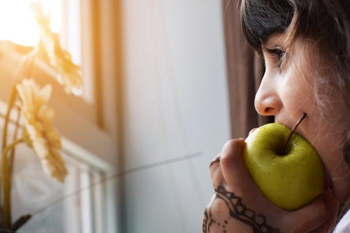 jabłko na drugie śniadanie