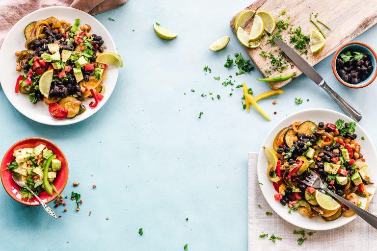 Zdrowy i smaczny obiad wegetariański