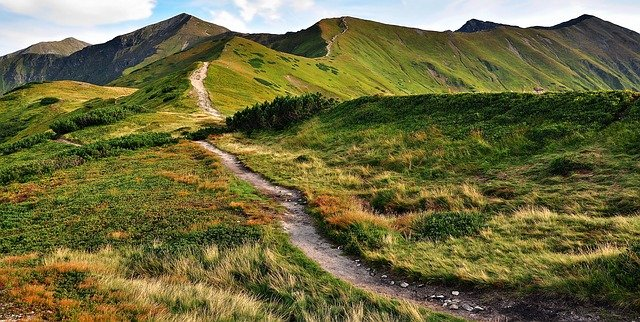 szlaki w tatrach